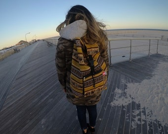 Peruvian Handmade Backpack - Tierra