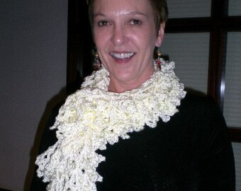 Solid Series Ruffly Scarf