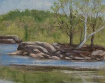 Oil Painting- Original Plein Air Landscape