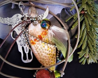 Cowgirl - OOAK - Cactus necklace