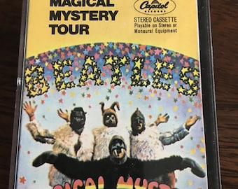 Beatles Magical Mystery Tour Cassette Tape (RARE)