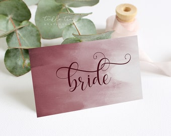 Place Cards - Wedded Bliss (Style 13758)