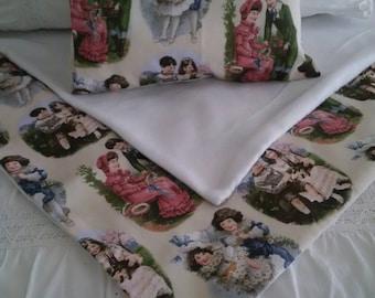 Vintage Wrap & Pillowcase Set