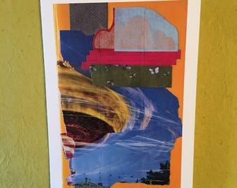 Hand made // Inspirational // Goody greeting card // Carnival Ride