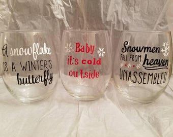15 oz Stemless wine glasses