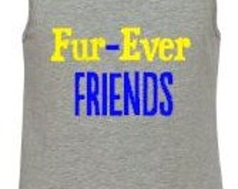 Youth Tank Top Fur-Ever Friends