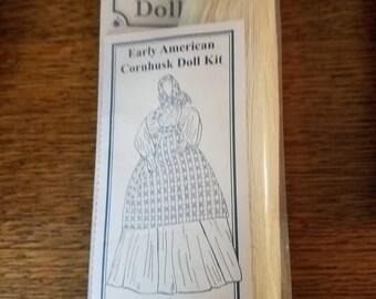 Historical Folk Toys Cornhusk Doll Kit