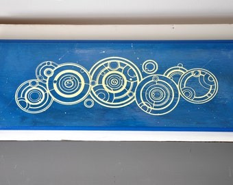 Doctor Who Name wood sign / Gallifreyan / Wood Sign