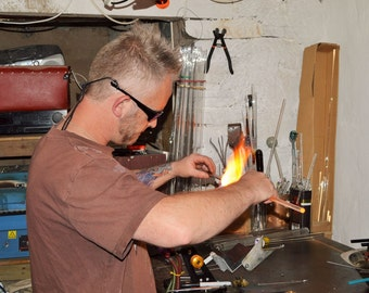 3 hour Borosilicate Glass Flameworking Lampwork Taster Session Workshop