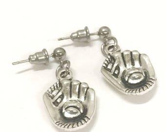 Baseball Gifts, Baseball Earrings, Baseball Mom Gifts, I Love Baseball Earrings, Baseball Jewelry Gifts, Baseball Girlfriend Gifts