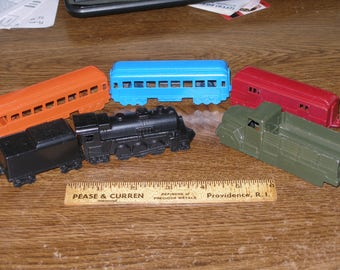 MIDGETOY 5 pc. Train and Army Truck