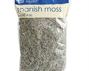 Crafter's Square Spanish Moss  Decorating Wreaths and floral arrangements Arts Crafts, DIY Crafts