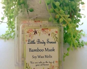 Bamboo Musk Soy Wax Melts