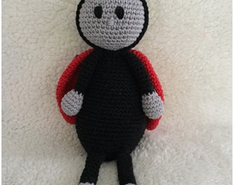 Ladybug amigurimi crochet pattern pdf clearly described in Dutch, Deutsch and English. US terms