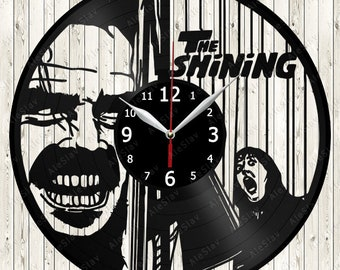 The Shining Vinyl Record Wall Clock Handmade Art Decor Your Room Original Gift 1573