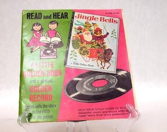 Little Golden Book & Golden Record Read and Hear Jingle Bells