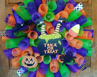 SALE!! Halloween wreath