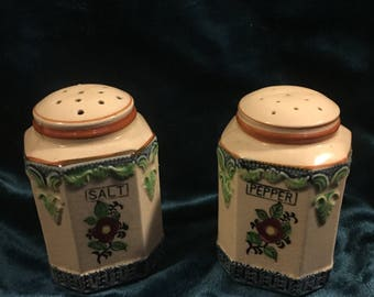 Made in Japan Ceramic salt and pepper shakers