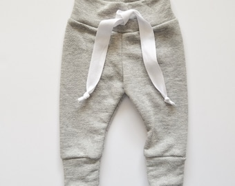 Solid Grey Baby Joggers, Baby Jogger Pants, Baby Boy Leggings, Baby Leggings, Baby Pants, Toddler Leggings, Hipster Baby Clothes
