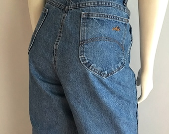Vintage Women's 80's Chic Jeans, High Waisted, Denim (L)