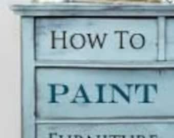 workshop course shabby furniture painting paint creative chalk autentico