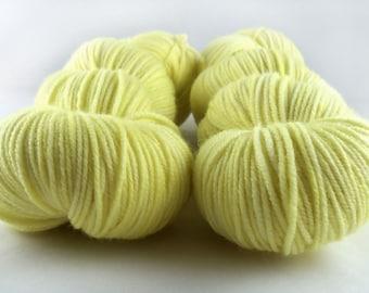 Sunshine - Hand Dyed Superwash Merino DK Yarn