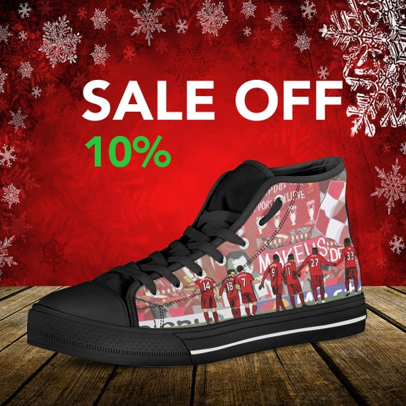 Custom High Walk FC Custom You Anfield Sneaker Liverpool Art Never Shoes Converse Top Liverpool Football Shoes Alone Converse Liverpool wn7X0dqH0