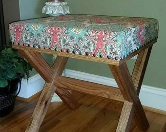 Step stool, Kitchen Bar Stool, Industrial bar stool, Counter Stool, Hairpin Legs, foot stool, Industrial stool, Ottoman, Eames.