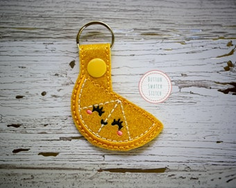 Lemon/ Pineapple/ Apple Key Fob