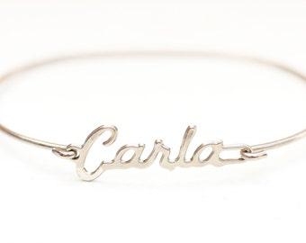 Vintage Name Bracelet - Carla
