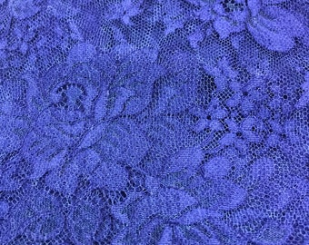 Blue Chantilly Lace