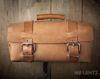 Mens Bag, Mens Leather Bag, Leather Tool Bag, Leather Work Bag, Leather gear bag 241EX