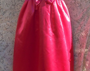 Pink satin dress  formal gown 1960s Mike benet mid century partt cocktail  xs small  , from vintage opulence on Etsy