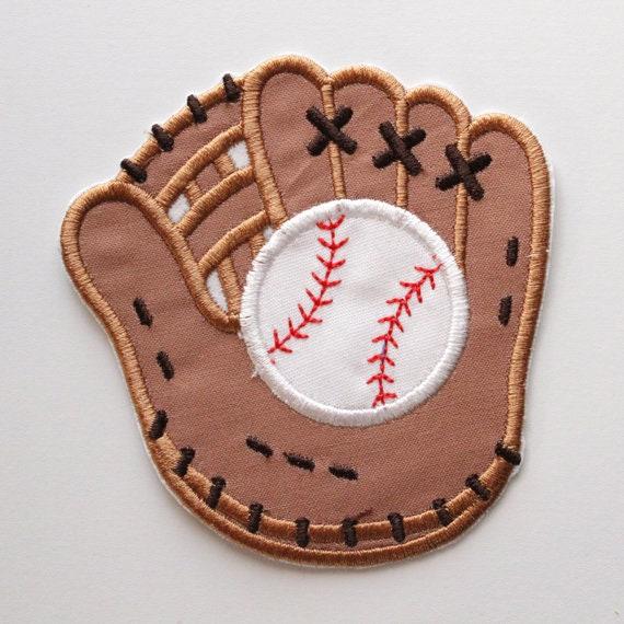 Baseball Glove Iron On Applique, Baseball Mitt Patch, Baseball Patch, Iron  On Patch, Embroidered Baseball Glove, Embroidered Glove, Sport from  PatchStation ...