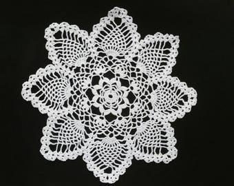 crochet doily (pattern 2) 28 cm choice of color