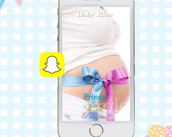Snapchat GeoFilters, Baby Shower Snapchat Filters, Party Snapchat Filter, Gender Reveal Party Snapchat Geofilter, Gender Reveal Party