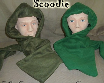 Green scoodie