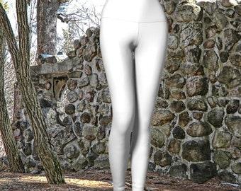 White Yoga Leggings