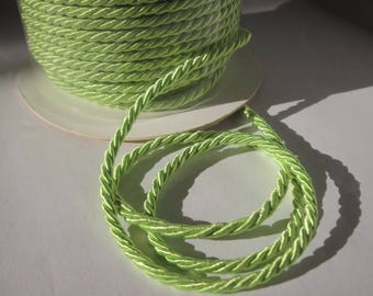 1 meter of cotton yarn braided 3 mm thick (158)