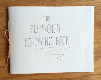 Custom Hand Drawn Coloring Book