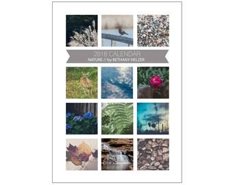 2018 Desk Calendar, Photo Calendar, 5x7 Desk Calendar, Fine Art Photography, 5x7 Calendar, 2018 Calendar, Nature Calendar,Photo Calendar
