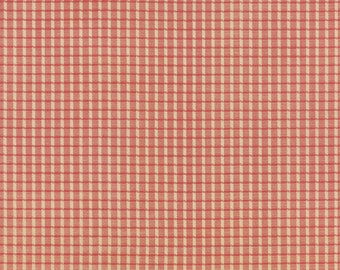 Autumn Lily by Blackbird Designs - Pink Plaid - Moda 2745 11