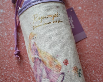 Tangled Rapunzel Water Bottle Pouch