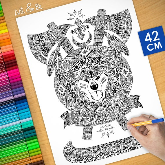 COLORING Poster - Native ...