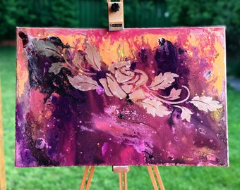 Abstract on canvas