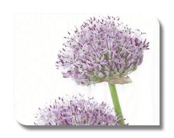 Floral napkin for decoupage x 1. Lavender purple alstroemeria flowers. No 1030
