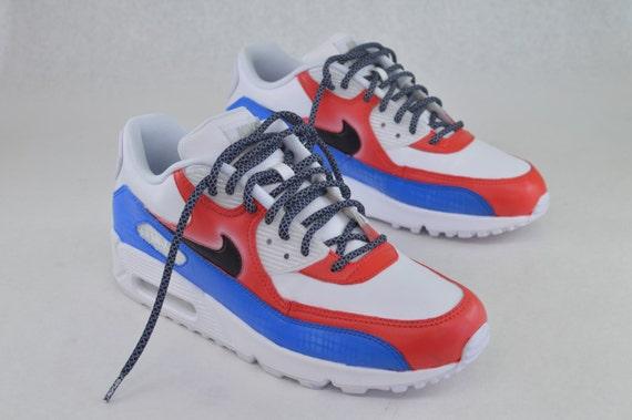 Custom Hand Painted Nike Air Max 90 Running Shoes  America
