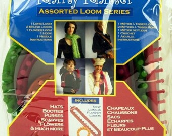 KNifty KNitter Looms BRAND NEW in Original Provo Package and 5 FREE Patterns