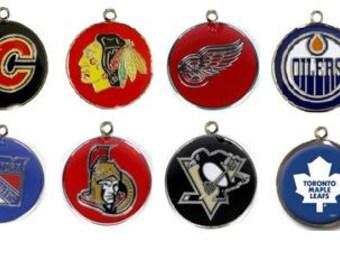 NHL Pet ID tags Engraved