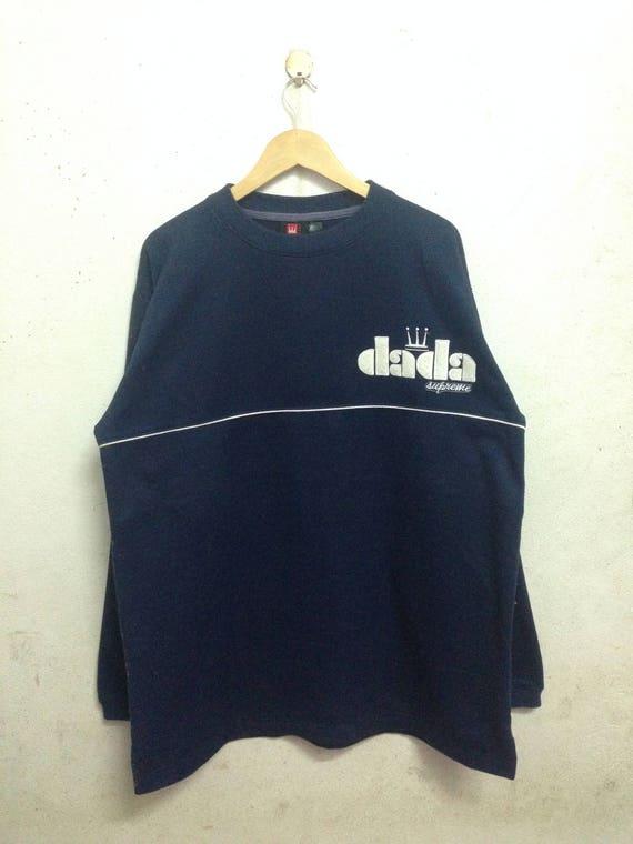 Vintage 90's Damani Dada Supreme Sweatshirts Size XL urJZq